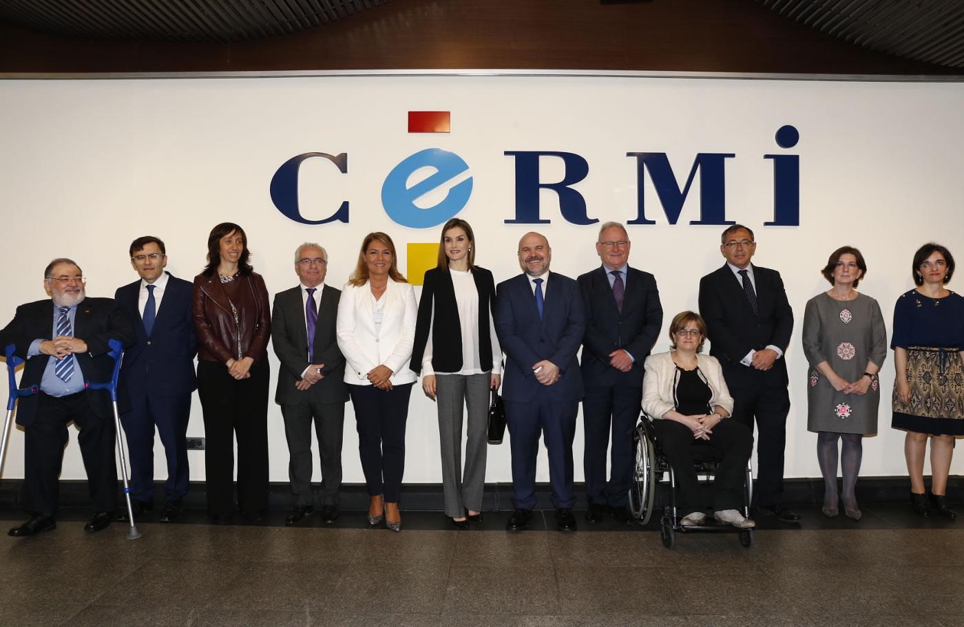 La Reina se reúne con CERMI para conocer su labor a favor de las personas con discapacidad