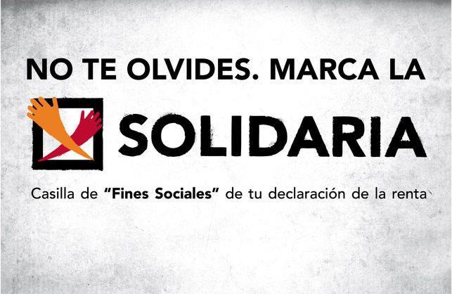 campaña solidaria renta