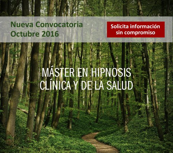 master en hipnosis clinica