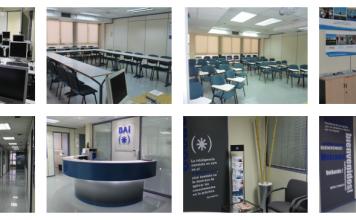 Nuestras instalaciones y aulas. Bai Escuela de Empresa y Comunicación