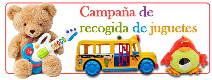 Resultado de imagen de campaña recogida de juguetes