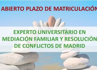 Abierto plazo de matriculación para el Experto en Mediación Familiar y Resolución de Conflictos de Madrid