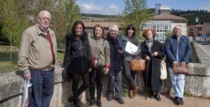 Visitamos Aguilar de Campoo junto a CEATE y la Fundación Santa María la Real