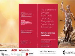 III Congreso del Consejo Superior de Letrados y Abogados