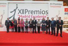 EDAE a acudido a la XII edición de los premios Madrid Excelente - imagen de los galardonados
