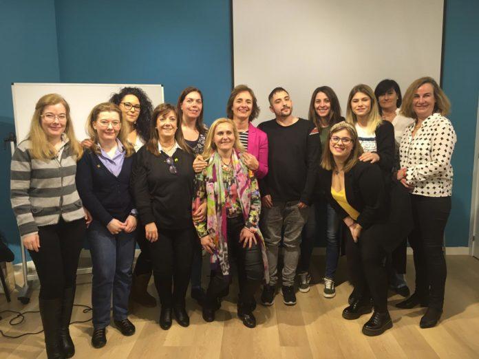 Foto de grupo de los alumnos de Mediación