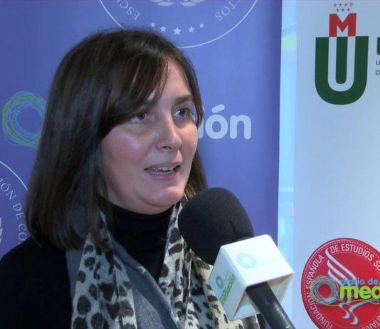 La Alumna del Experto en Coordinador Parental, Margarita Fernández