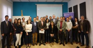 Asistentes al 1º Encuentro DPD en Madrid