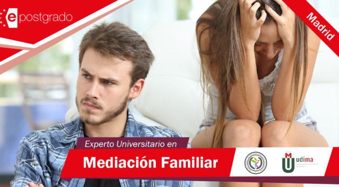 Experto Universitario de Mediación Familiar y Resolución de Conflictos de Madrid