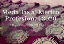premiados medallas merito profesional 2020