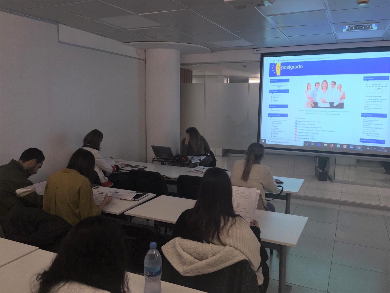 presentación curso de directores servicios sociales